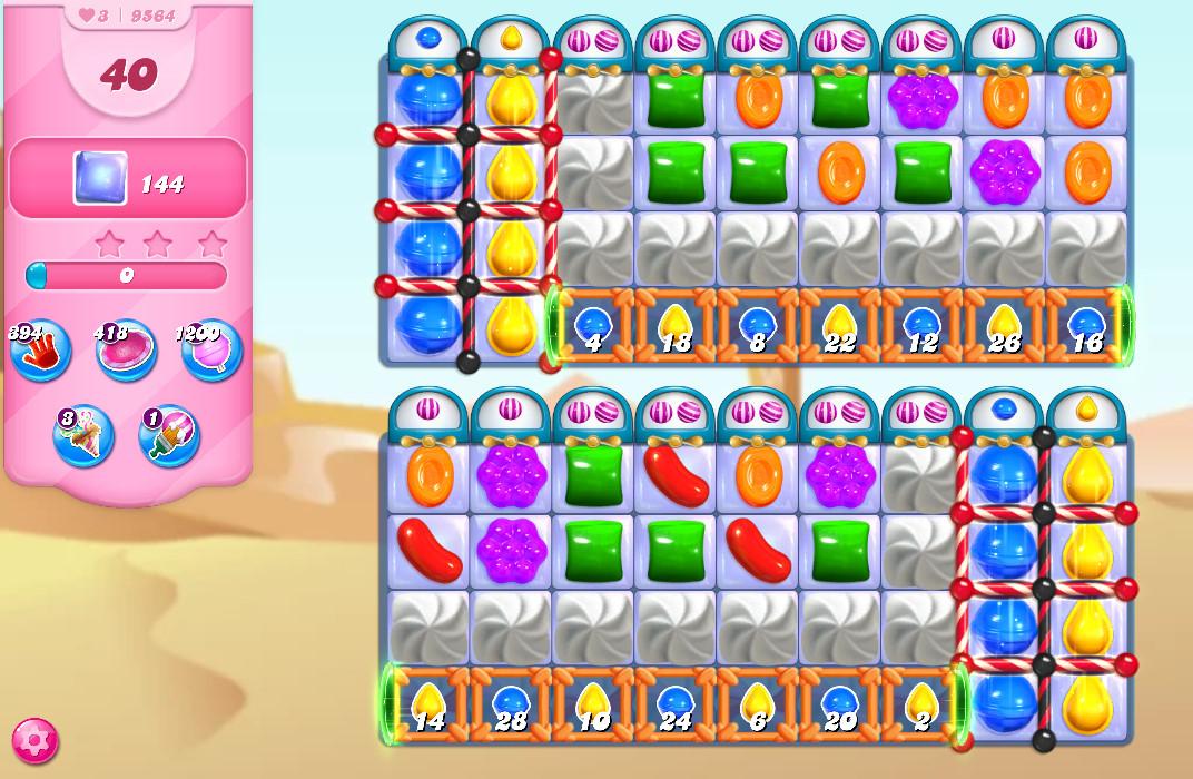 Candy Crush Saga level 9564