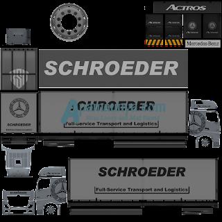 Download Livery Truck Actors Silver Roda 10