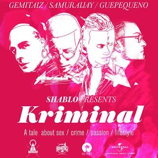 """Copertina di """"KRIMINAL"""", il nuovo singolo di Shablo."""