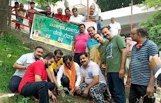 लायंस क्लब क्षितिज ने पौधरोपण अभियान का किया शुभारंभ  | #NayaSaberaNetwork