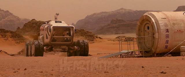 Rover and Base from The last days on Mars movie