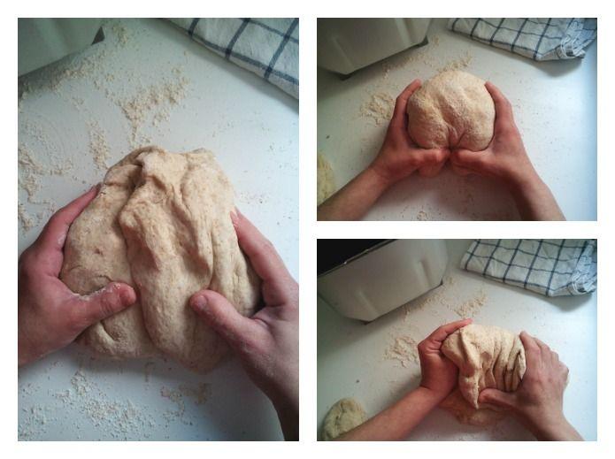 amasado del pan