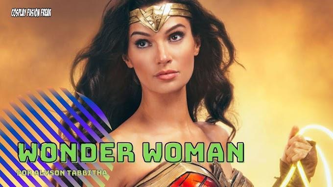 Alyson Tabbitha perfecta con su cosplay de Wonder Woman 1984
