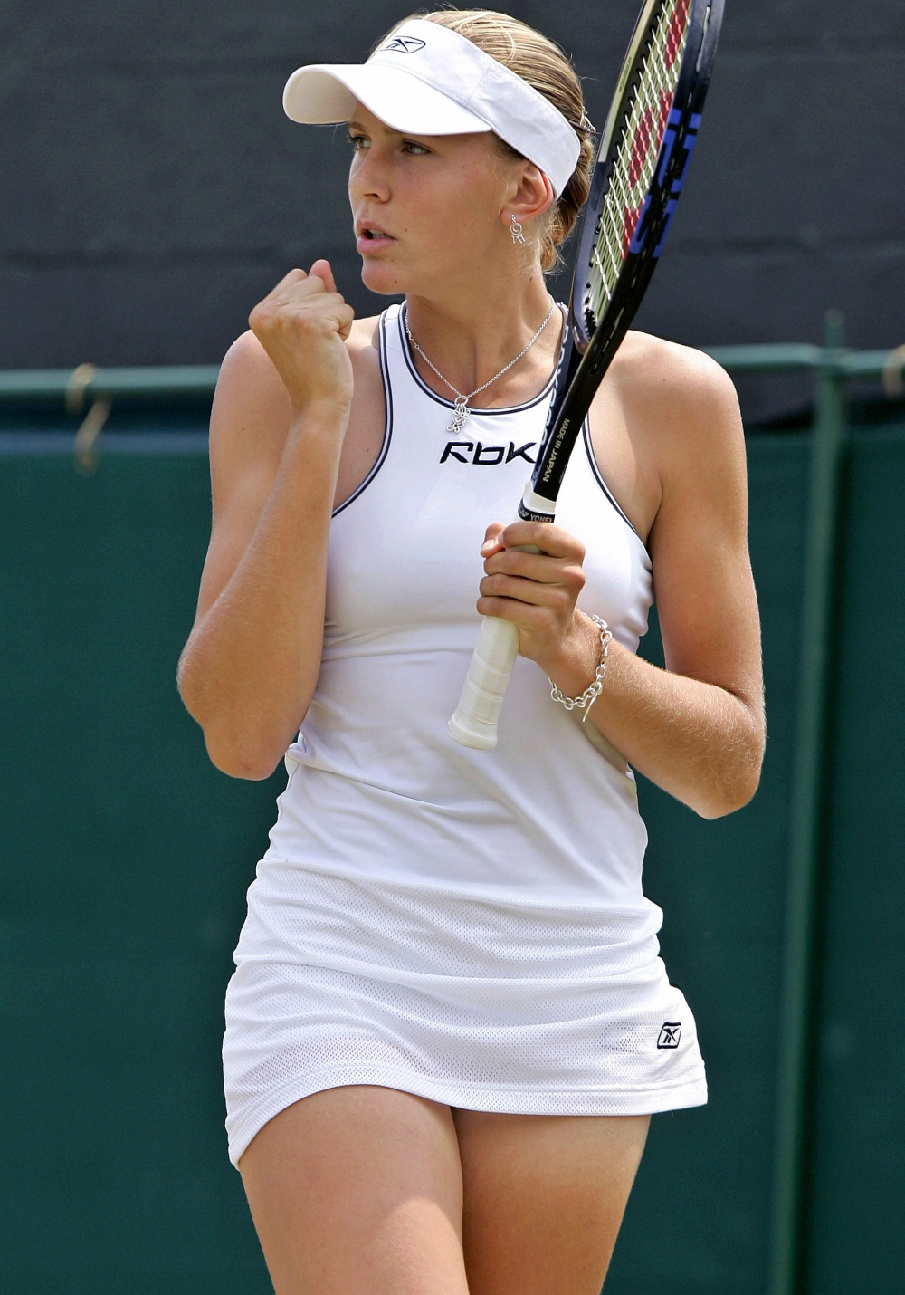 Female hot player tennis women