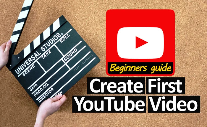 Making your first YouTube video