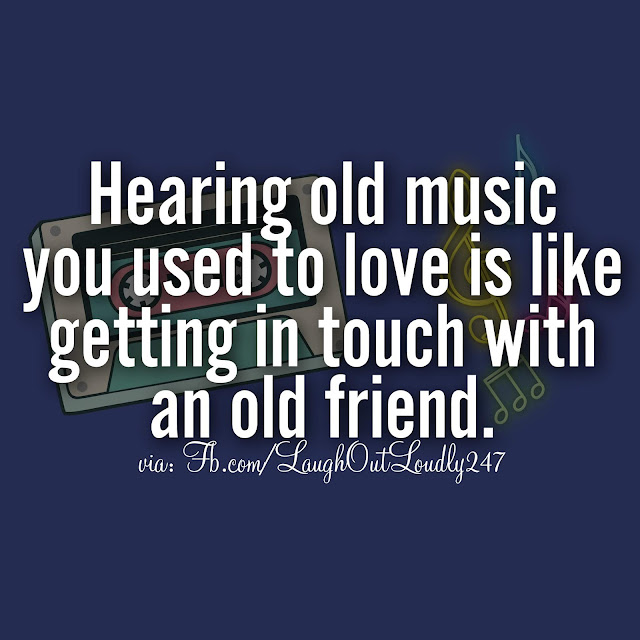 Hearing Old Music, Sense of pleasure happiness and satisfaction