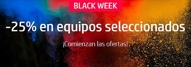 Mejores ofertas Black Week de la tienda online de HP