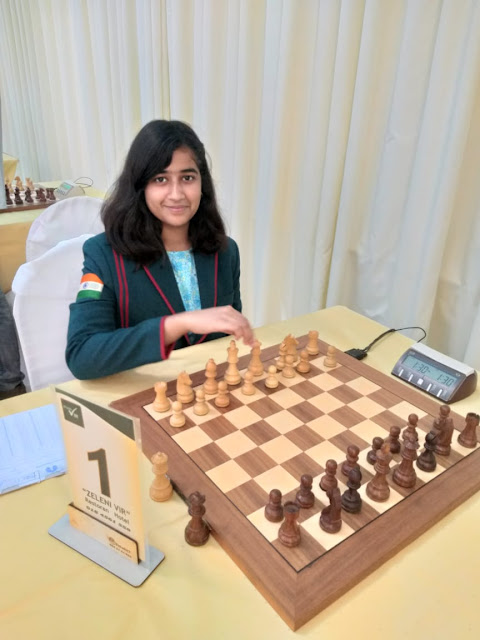 Gurugram's Tanishka Kotia becomes the 5th Asia rank holder in Chess U-16 category