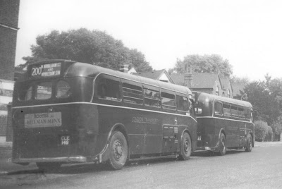 London Transport Bus 200 To Wimbledon Station CLE 149 1930s