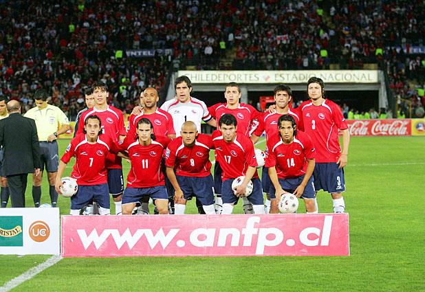 Formación de Chile ante Argentina, Clasificatorias Sudáfrica 2010, 15 de octubre de 2008