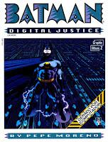 Capa da revista Batman Digital Justice
