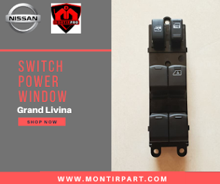 Switch Power Window Nissan Livina