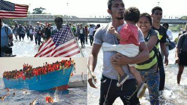 Immigration illégale en Amérique