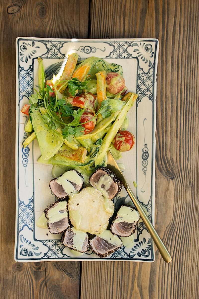 Mat från restaurant Umami i Prenzlauer Berg i Berlin.