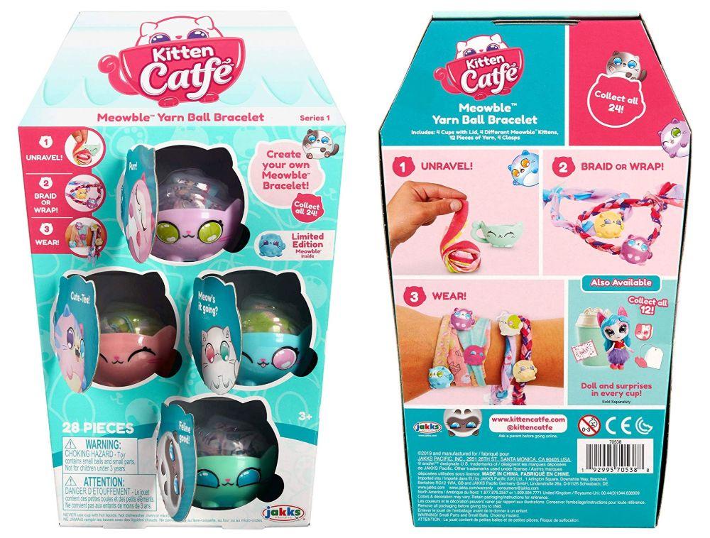 Браслеты сюрпризы Kitten Catfe украшения для девочек игрушки