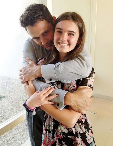 Hollywood Heartthrob James Franco Helps Dumped Teenage Girl's To Get Perfect Revenge On Her Ex-BF