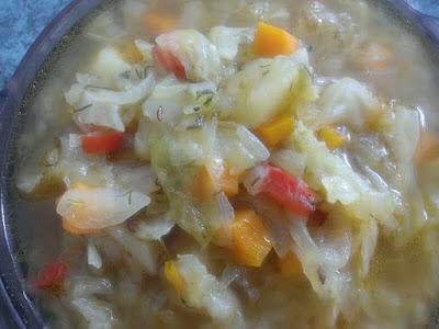 Zupa z kapusty na obiad