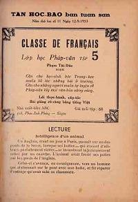 Lớp Học Pháp Văn Tập 5 - Phạm Tất Đắc