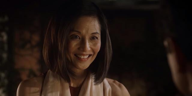Kumiko is happy to see Daniel