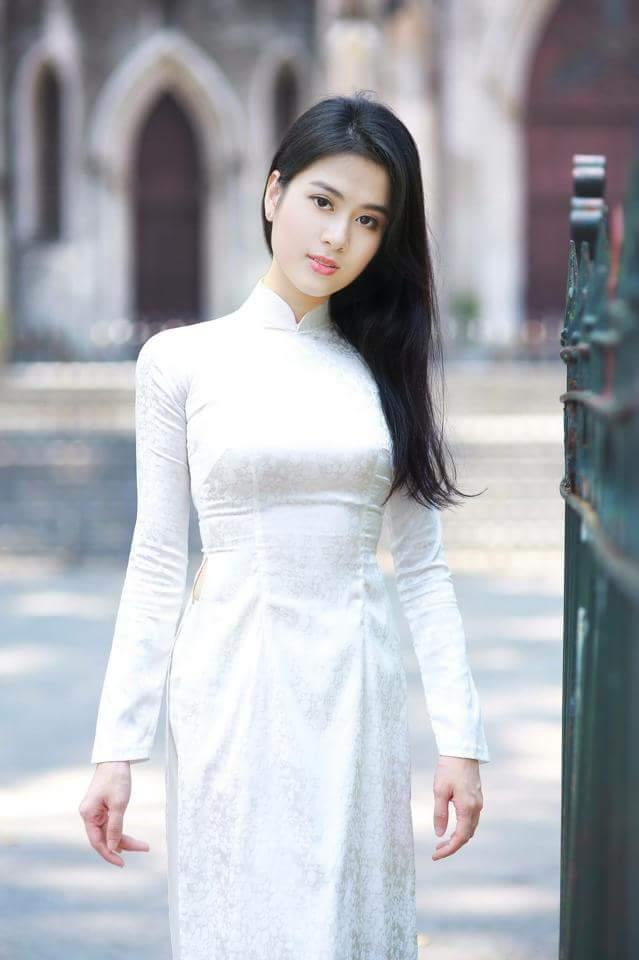 Tuyển tập girl xinh gái đẹp Việt Nam mặc áo dài đẹp mê hồn #60 - 14