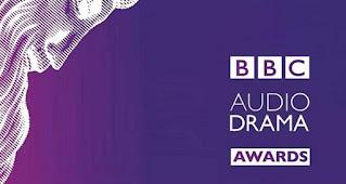 BBC Audio Drama Awards written in white on a purple background