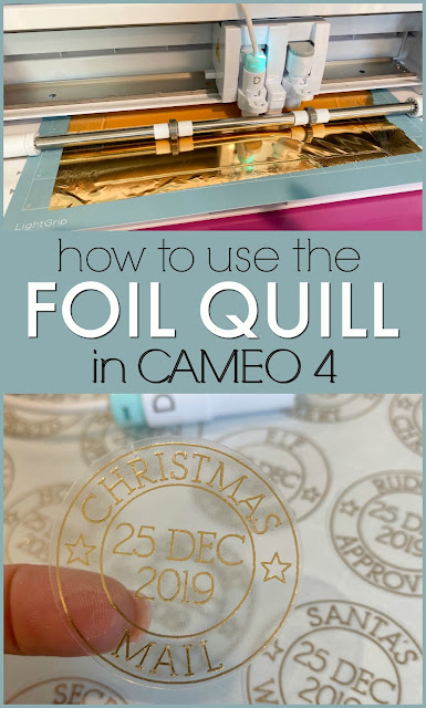 silhouette 101, silhouette america blog, foil quill, cameo 4, foil quill silhouette