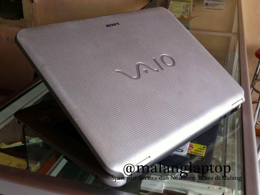jual laptop bekas vaio vgn-ns110e