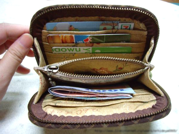 Accordion Purse / Wallet Tutorial. DIY tutorial in pictures. Quilting and patchwork.