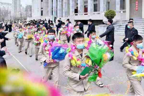 dprk youth volunteers for laborous jobs