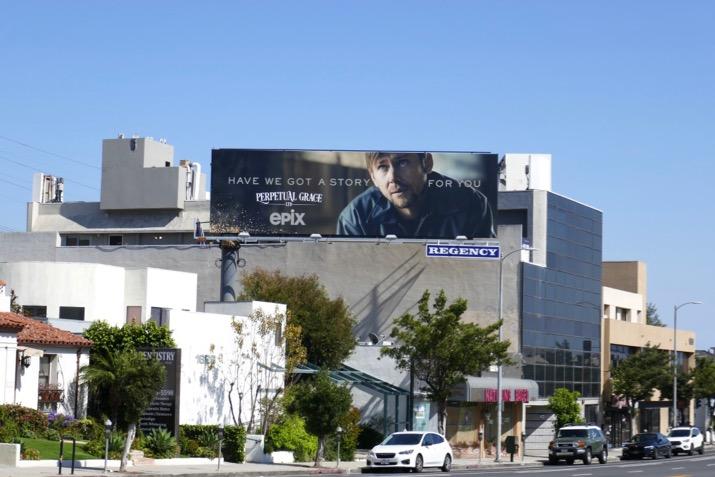 Perpetual Grace Ltd teaser billboard