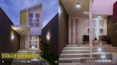 rumah minimalis 2 lantai lebar 4 meter