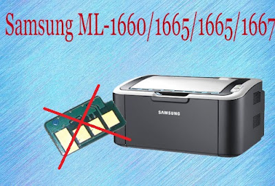 program to reset the Samsung ML-1660 printer