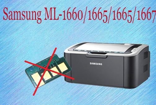 Reset Samsung ML-1660/ML-1665 Printer