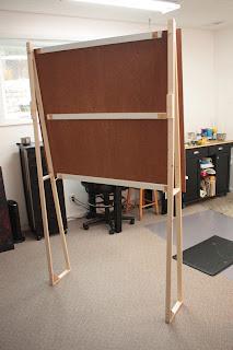 Nancy Teague Art Blog How To Build A Simple Big Easel