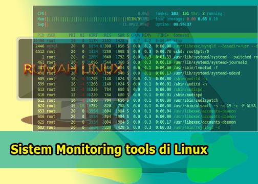 Sistem Monitoring tools di Linux|Blog Linux Indonesia|HTOP di Linux |Tutorial htop di Ubuntu|Perintah Dasar Linux