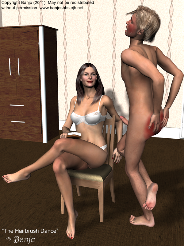after spanking dance