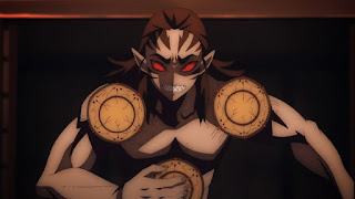鬼滅の刃アニメ 十二鬼月 元・下弦の陸 響凱 Kyōgai(CV. 諏訪部順一) | Demon Slayer Twelve Kizuki Rank 6.
