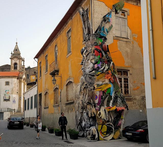 gatukonst i Porto