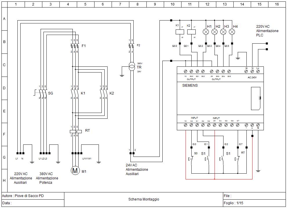 Impianti elettrici schemi impianti elettrici schemi cheap for Laboratorio di garage domestico