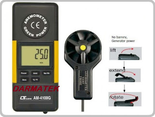 Jual Lutron AM-4100G Anemometer