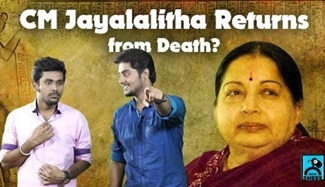 CM Jayalalitha Returns From Death? | TV Potti with Kovai Brothers | Black Sheep