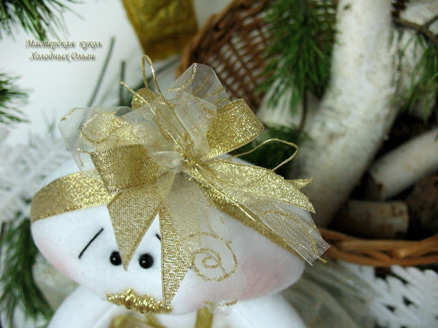 Золотая Снежинка украшение на голову