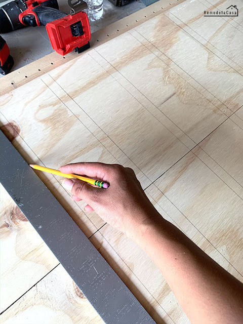 marking the ply