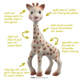 All Bound Up In Baby Sophie Giraffe