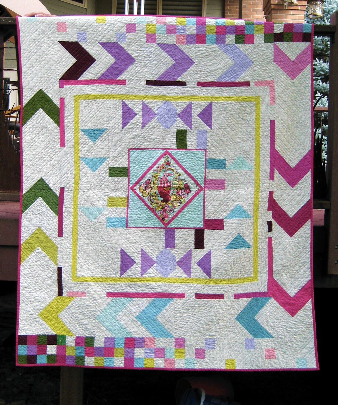 quilt for border basket is childhood quilter medallion liberated q