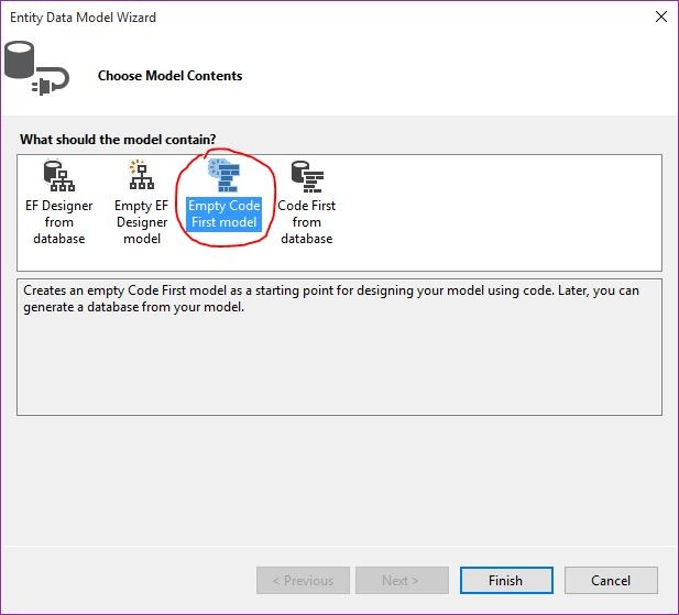 ASP NET MVC5: Entity Framework Simple Code First Database