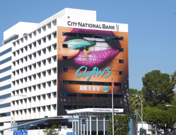 Giant Claws series launch billboard
