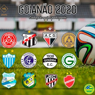 FGF divulga tabela das quartas de final do Campeonato Goiano 2020
