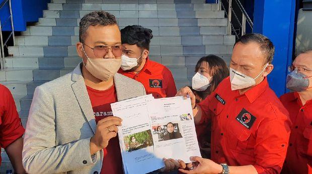 PDIP DKI Polisikan Hersubeno Arief soal Hoax 'Megawati Koma'