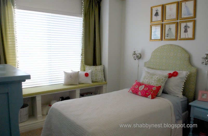 My Daughter's Bedroom Redo: Before And After~